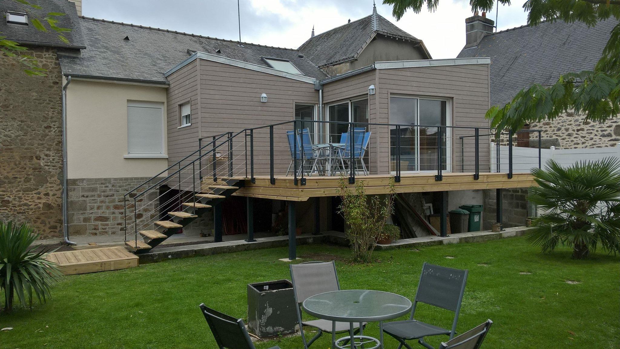 Extension g bois bureau de conception architecturale for Bureau de conception